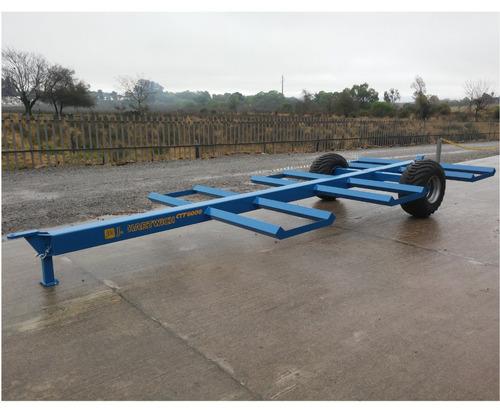 carro transportador fardos 6x1000kg ctf 6x1000 j. hartwich
