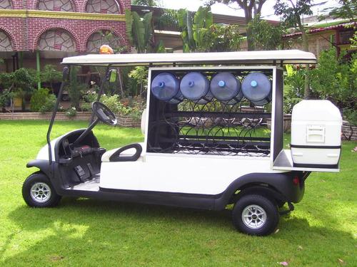 carro / vehiculo electrico garrafonero - garantía 1 año