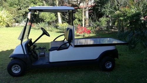 carro / vehículo industrial tipo plataforma con caja