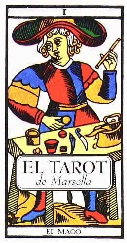cartas tarot de marsella - 78 cartas + manual