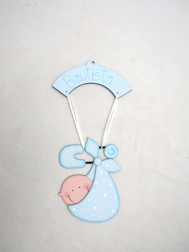 cartel bienvenida para puerta de bebe decoracion de cuartos