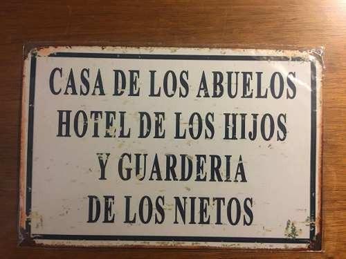 Cartel Chapa Frases Antiguas Ver Más Fotos