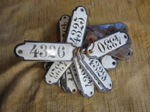 carteles esmaltados antiguos  para un monton de usos