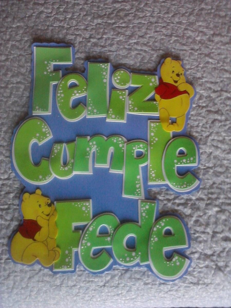 6b0cae9467b carteles goma eva para cumpleaños ò fiestas infantiles. Cargando zoom.