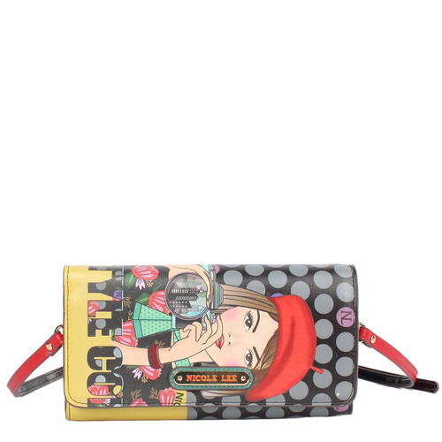 cartera billletera nicole lee usa - cla6507