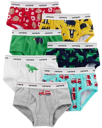 carters underwear 3pk calzoncillo niño 2-3  eg21