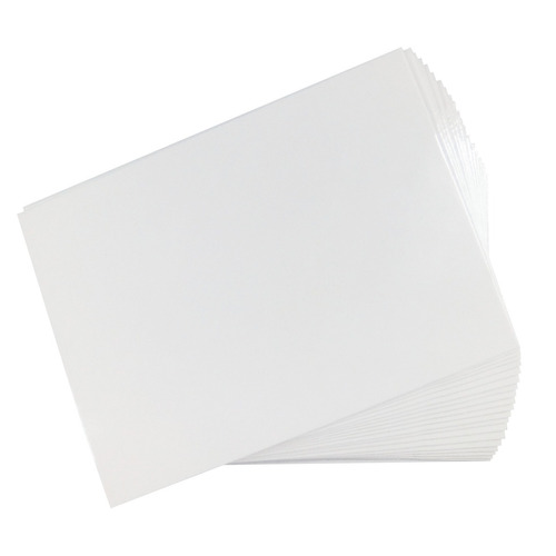 carton pesado 1550 grs importado sublimable sublimar a4 x20