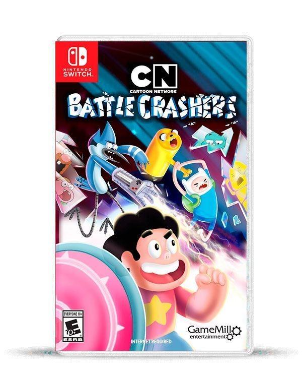 cartoon networt battle crashers switch físico macrotec u s 54 00