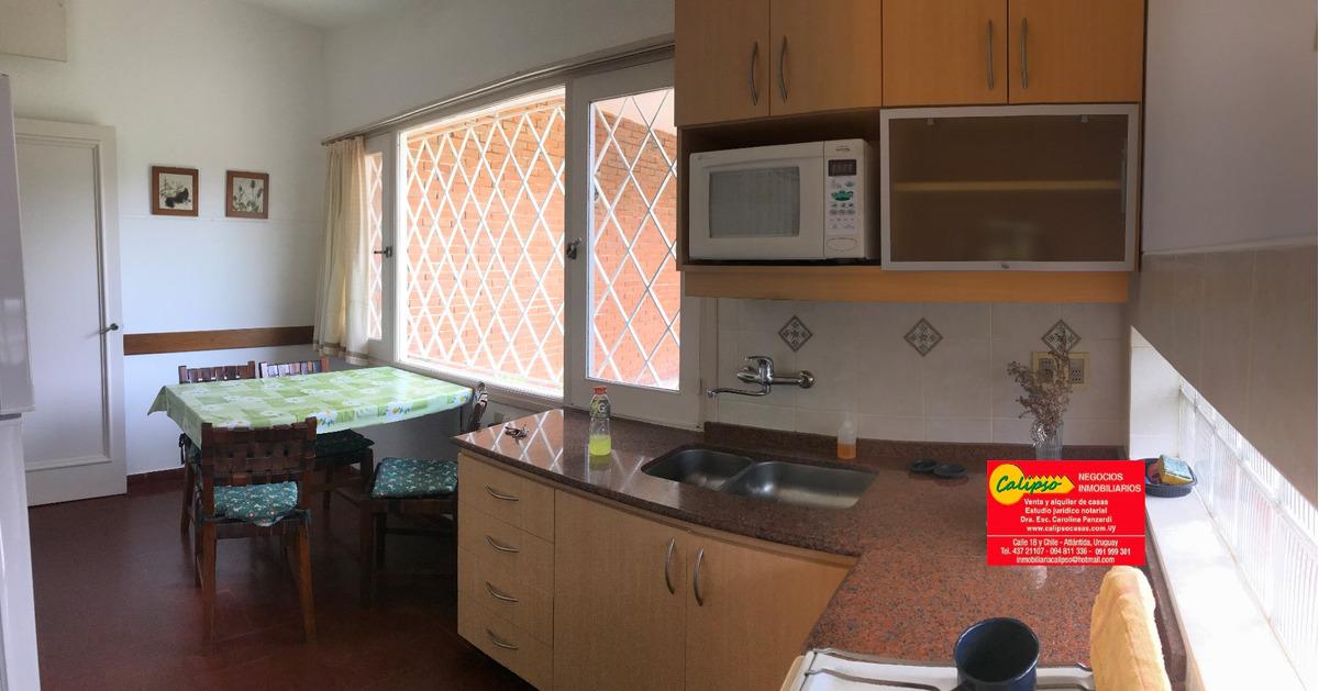 casa - 2 dormitorios - atlantida - inmobiliaria calipso
