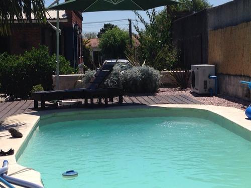 casa 3 dorm.+apto.huesped+barbacoa y piscina