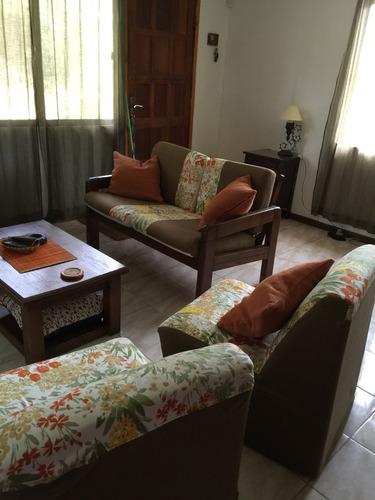 casa, cabaña 110m playa, 6 pers punta colorada, piriapolis