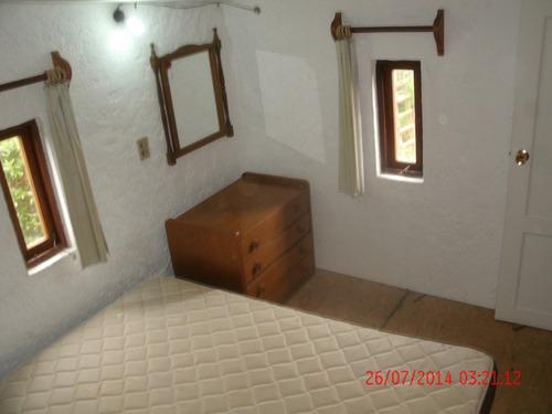 casa, cabaña para 65 y apto para 45 la paloma, rocha