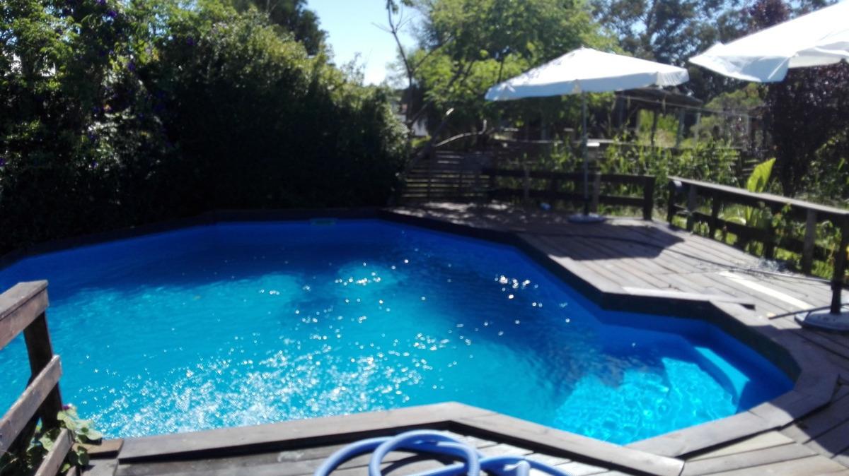 casa con piscina a 200 metros de la playa