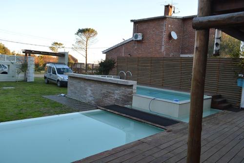 casa con piscina, muy cómoda a mts de playa /febrero