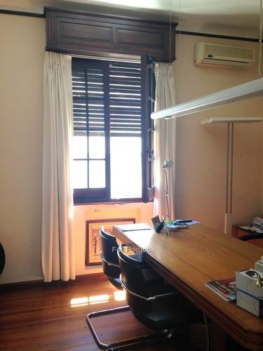 casa de estilo c/nobles materiales, ideal empresa