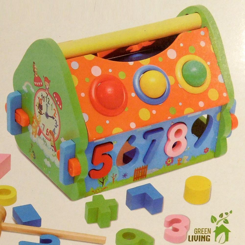 6bb4fb784 Casa De Madera Con Bolas Y Encastres. - $ 795,00 en Mercado Libre