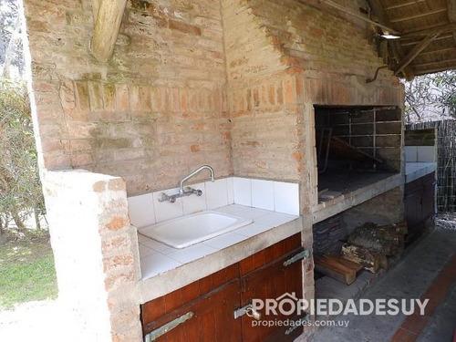 casa en alquiler de 3 dormitorios y dep. servicio - 3 baños en la barra