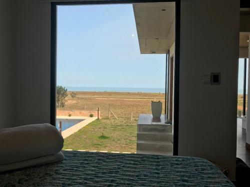 casa en alto, piscina, apartamento independiente 50m del mar
