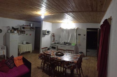 casa en alvorada - 3 cuadras del mar - 2 dorm