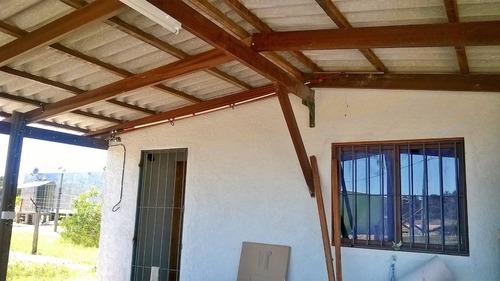 casa en barra del chuy a una cuadra de la playa