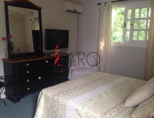 casa en mansa 3 dormitorios y casa huéspedes con barbacoa y parrillero - ref: 32621