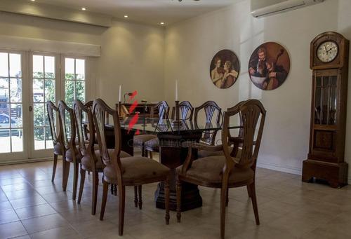 casa en mansa 5 dormitorios y dependencia con piscina y parrillero - ref: 34029