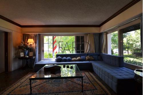 casa en mansa 6 dormitorios, barbacoa, piscina, garage y gran parque - ref: 33779