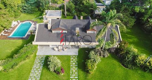 casa en mansa 6 dormitorios con piscina, barbacoa y excelente jardín - ref: 34371