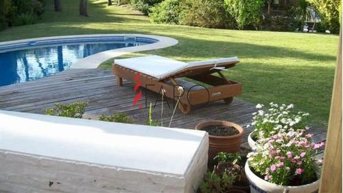 casa en montoya 4 dormitorios y dependencia con piscina y parrillero - ref: 33597