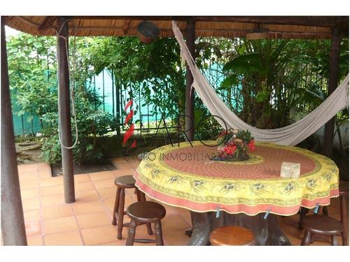 casa en pinares 3 dormitorios piscina parrillero - ref: 33160