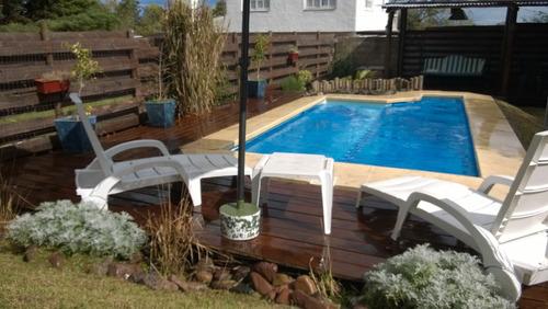 casa en piriapolis playa hermosa con piscina