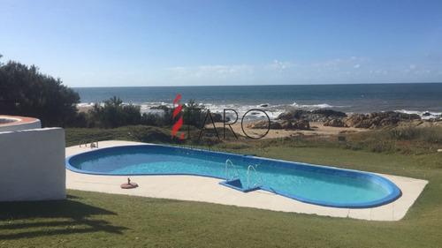 casa en punta piedras 5 dormitorios con piscina, cancha de tenis y parrillero - ref: 36027