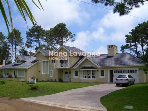 casa en venta y alquiler, golf, punta del este, 5 dormitorios. - ref: 206531