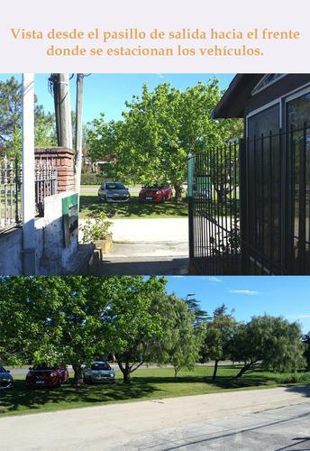 casa temporada atlántida 5 ambientes, patio y parrillero