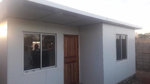 casas de verdad paredes y techos  15 cm de espesor uss 28500