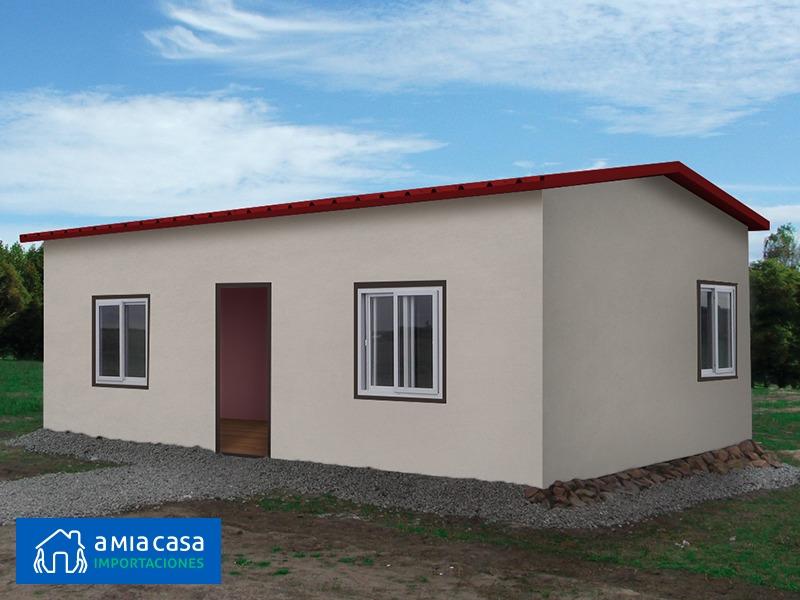 Casas Prefabricadas Isopanel Eps 1 Y 2 Hab 42m2 A Mia Casa U S