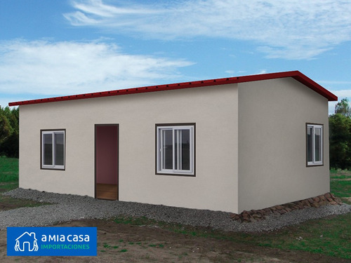 casas prefabricadas isopanel eps 1 y 2 hab 42m2 - a mia casa