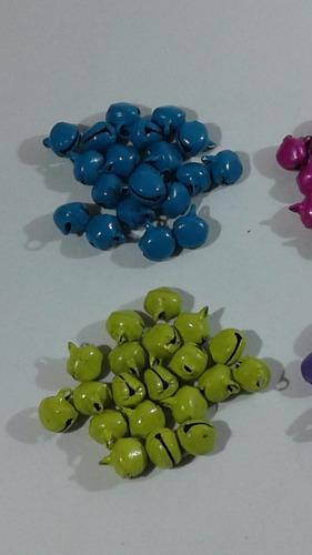 cascabeles multicolor 12 mm