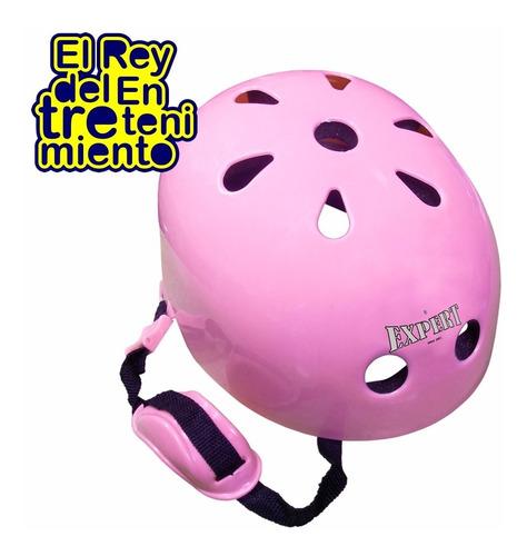 casco bmx niño bicicleta monopatín patín roller skate el rey