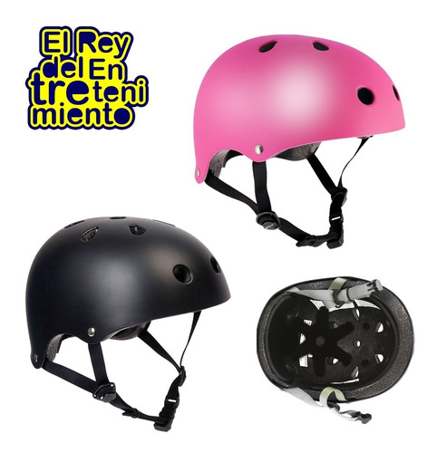 casco profesional adulto skate roller bicicleta bmx - el rey