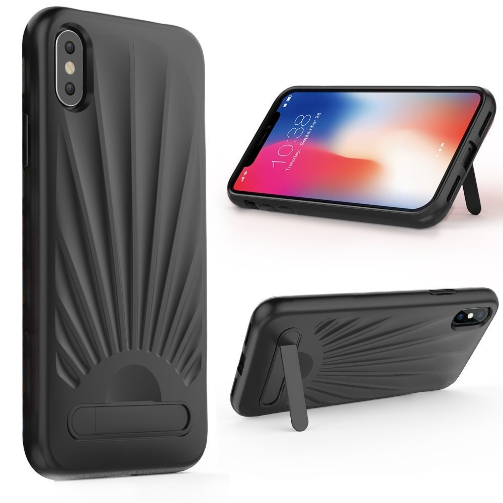 promo code 8cb21 2409b Case Celular Iphone X Case, Iphone X Stand Case, Zve Apple