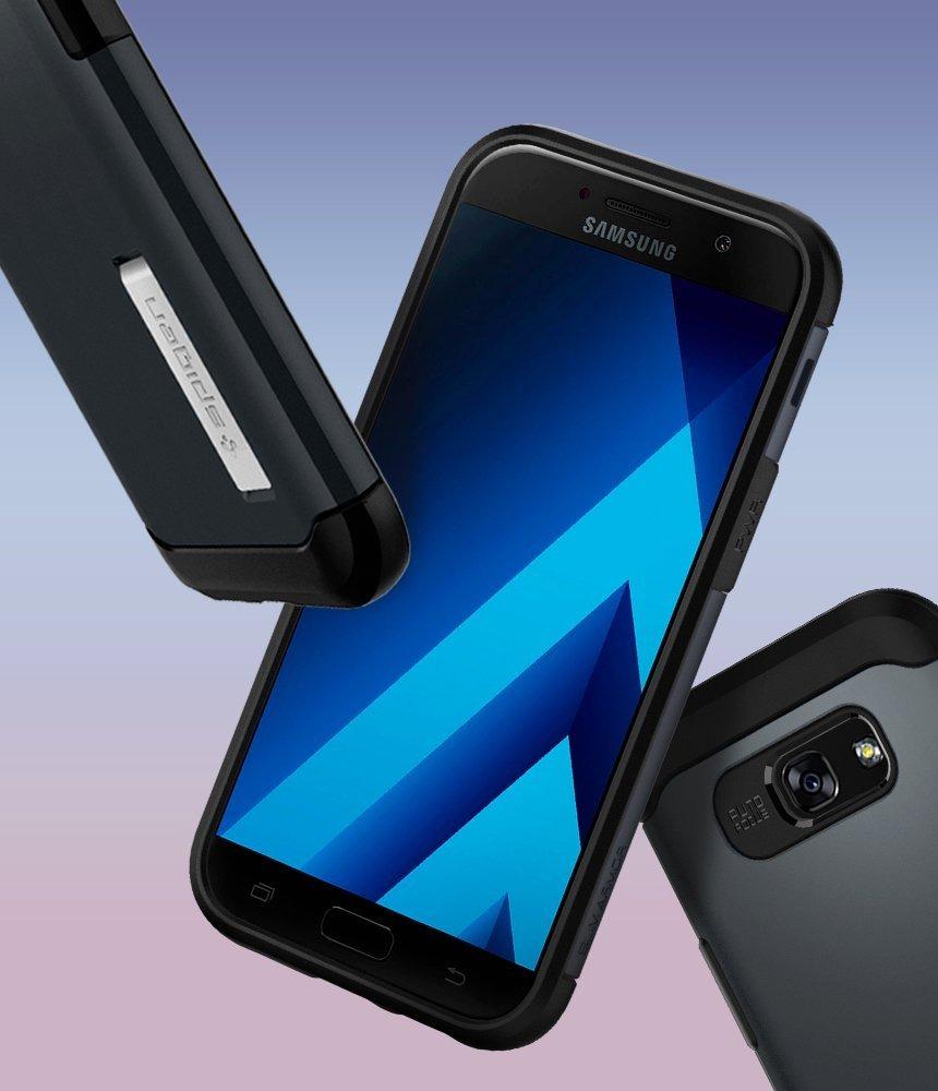 size 40 ea914 275fb Case Celular Spigen Slim Armor Galaxy A5 2017 Case Wit