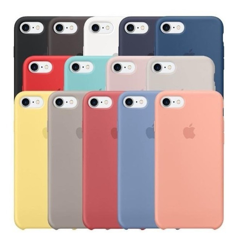 case iphone 7 y 7 plus, 8 y 8 plus silicona originales ®