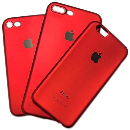 case vermelha red fashion p/ iphone 8 8 plus 6 6s 7 7 plus