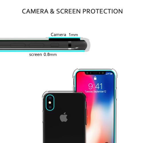 caso del iphone x, otium apple iphone x iphone 10 crystal