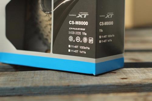 cassette shimano deore xt m8000 11s bicicleta