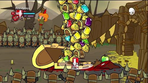 castle crasher remasterizado xbox one digital offline comple