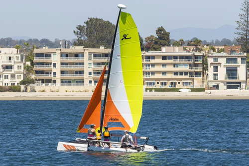 catamaran hobie getaway