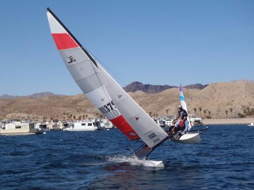 catamaran hobie h16