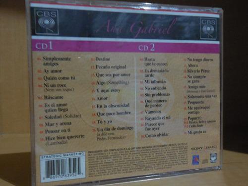 cd doble ana gabriel la gran colección edición limitada